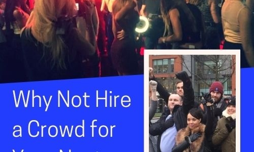 Why Not Hire a Crowd for Your Next Event?